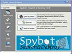 fotografia del programma: Spybot - Search & Destroy