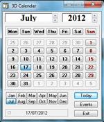 fotografia: Calendar