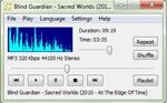 fotografia del programma: CrystalWolf Audio Player