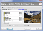 fotografia programului: Easy Digital Photo Recovery