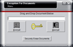 fotografia programului: Encryption for Documents