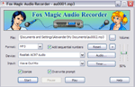 foto del programma: Fox Magic Audio Recorder
