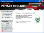fotografie: Lavasoft Privacy Toolbox