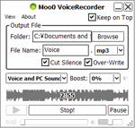 photo:Moo0 VoiceRecorder