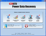 l'immagine del programma: Power Data Recovery Free Edition