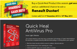 photo: Quick Heal AntiVirus Pro