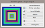 photo program: Screen Capture + Print