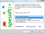 photo:Spesoft Free Audio Converter