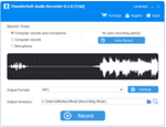 ThunderSoft Audio Recorder