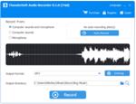 foto del programa: ThunderSoft Audio Recorder