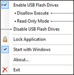 foto: USB Flash Drives Control