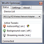 fotografia:WLAN Optimizer