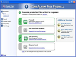 photo: ZoneAlarm Free Firewall